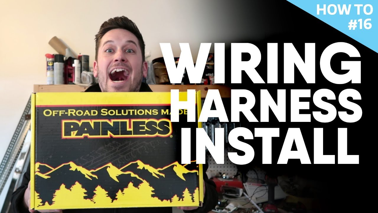 step by step wiring harness install - h2 #16