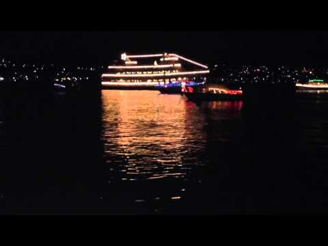 Jingle Bells sung by the Dickens Carolers aboard the Argosy Christmas Ship