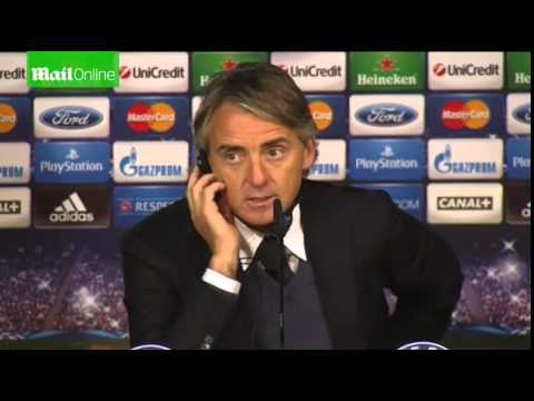 Real Madrid-Galatasaray 4-1 Roberto Mancini