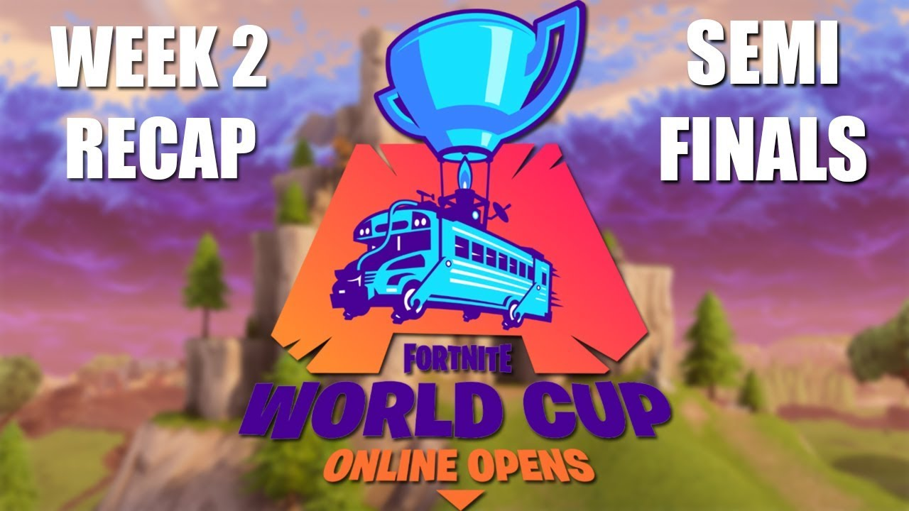 fortnite world cup week 2 semi final recap - fortnite leaderboards world cup