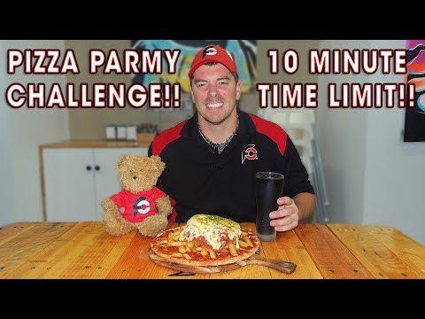 Chicken Parmesan Pizza Challenge in South Australia!!