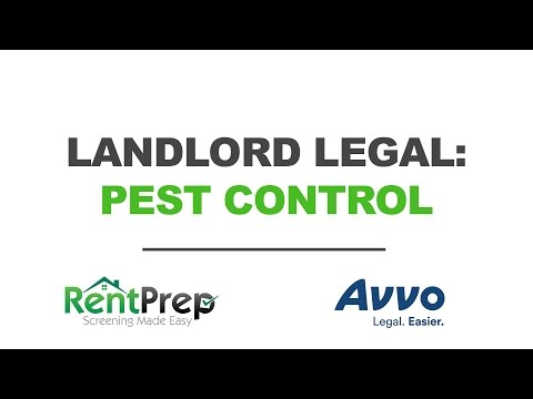 Pest Control In Rental Properties Legal Questions Answered | RentPrep