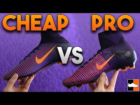 Superfly V Vs Veloce III DF Boot Battle - Nike Mercurial Soccer Cleats