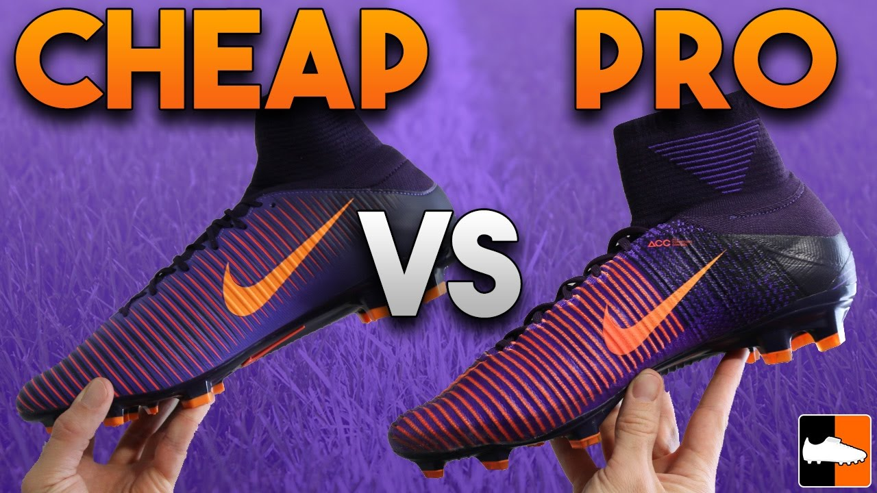 separation shoes 543f8 eef51 Superfly V vs Veloce III DF Boot Battle - Nike Mercurial Soccer Cleats -  YouTube
