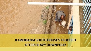 Kariobangi South houses flooded after heavy downpour thumbnail
