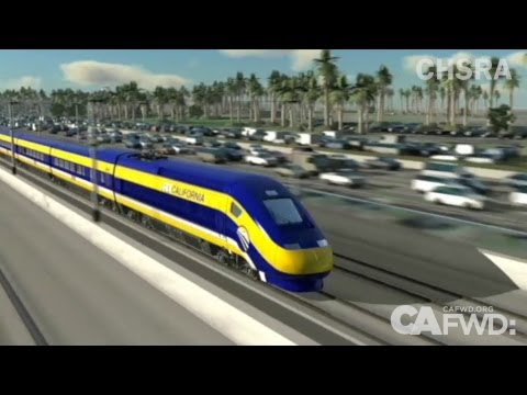Why should California's high speed rail start in San Joaquin Valley?