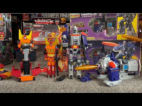 Transformers G1 Complete Vintage Boxed Rodimus Prime & Galvatron Collection by Toys Are Russ