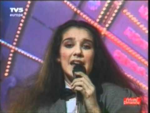 Celine Dion - D'amour Ou D'amitie 1983 - 1st time on French TV