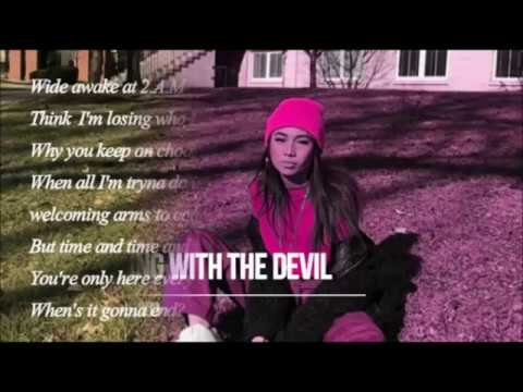 NIKI - Dancing with the Devil (Lyrics)