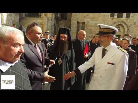 NOUVEAU CONSUL GÉNÉRAL DE FRANCE À JÉRUSALEM