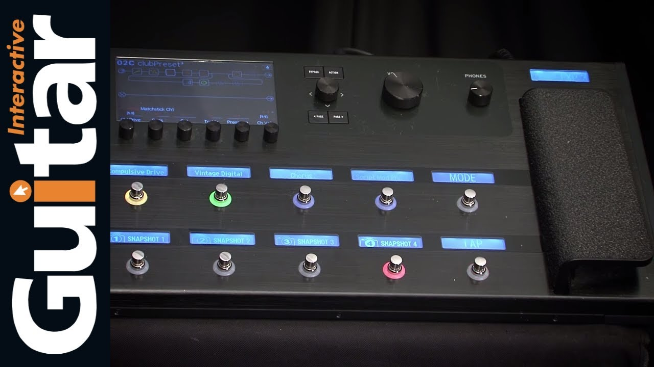 Line 6 Helix Floor Multi-Effects Guitar Pedal | Review