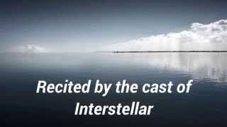 Do Not Go Gentle Into That Good Night (from the Interstellar OST) [HD]