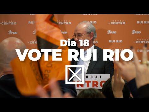 Rui Rio - Discurso de vitória na primeira volta das Diretas PSD