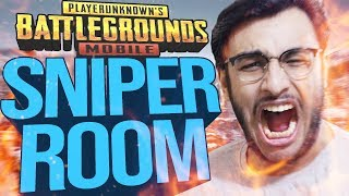 PUBG MOBILE LIVE: ADVANCED CUSTOM ROOMS! SNIPER ONLY.