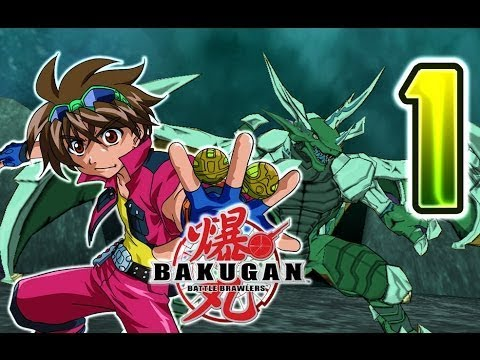Прохождение игры Bakugan Battle Brawlers №1