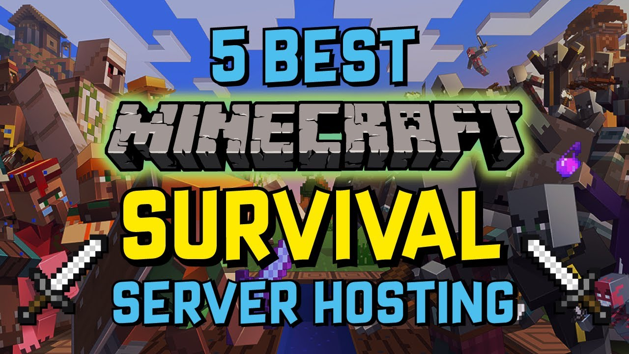 8 Best Minecraft Survival Server Hosts of 8 ⛏️ No Downtime