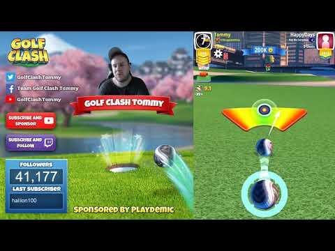 Golf Clash tips, Playthrough, Hole 1-9 - EXPERT - TOURNAMENT WIND! Skyline Cup Tournament!