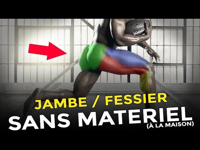 COMMENT SE MUSCLER LES JAMBES ET LES FESSIERS SANS MATÉRIEL