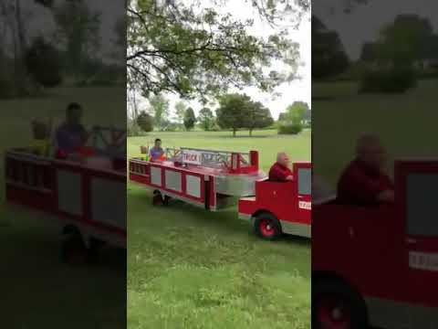 Fireman builds tiller truck with fully functional rear steering to train  his daughters - 990751