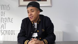 One of Adam Waithe's most viewed videos: TYPES OF PEOPLE AT SCHOOL