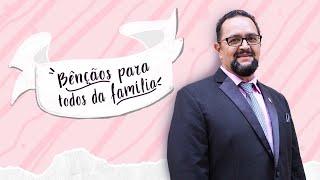 """Culto de Cebração, 10 de maio de 2020. """"Bênçãos para todos da família""""."""