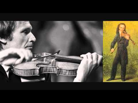 Gitlis plays Paganini  Violin Concerto No 1 in D, Op 6 1817