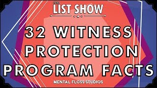 32 Witness Protection Program Facts