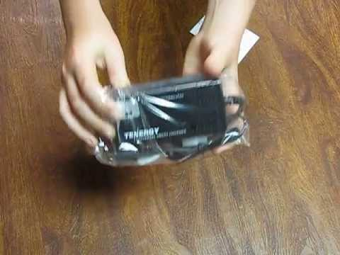 Tenergy Universal Smart Charger Unboxing/Last Video