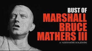 Bust of Marshall Bruce Mathers III (Eminem)