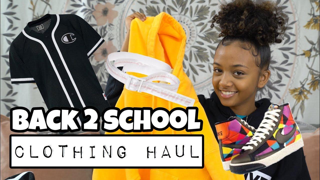 Back to School Clothing Haul 2019   LexiVee03 6
