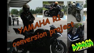 Yamaha R1 conversion project - Sofia Riders