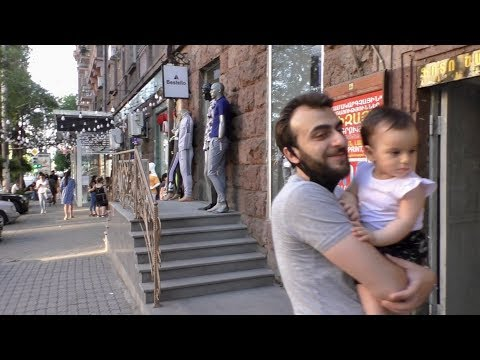 Ереван, 14.06.20, Su, От Площади, по ул.Тигран Мец,  День 88-ой, Video-1.