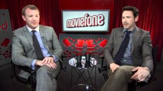 Moviefone Unscripted 'Sherlock Holmes: A Game Of Shadows' Guy Ritchie And Robert Downey Jr