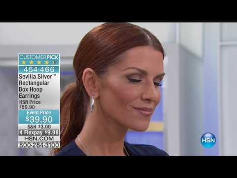 HSN | Sevilla Silver Jewelry 08.26.2016 - 10 AM