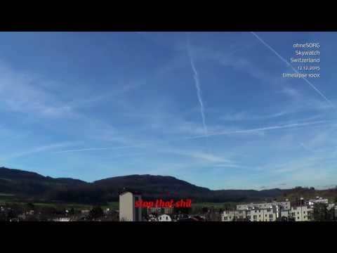 Switzerland Keeps Getting Sprayed all DAY! - GeoEngineering