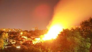 Пожар в Одессе  горит завод. Украина Сегодня Россия Новости 2015 Ukraine WaR