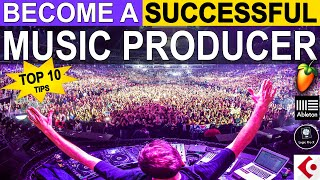 How To Become A Successful Music Producer
