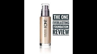 The One Everlasting Foundation by Oriflame Honest  Review + Demo