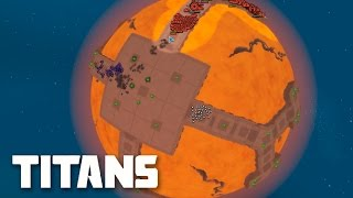 Planetary Annihilation: Titans Gameplay - Arena Battles | Multiplayer Combat