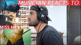 Musician Reacts To: MISS ME by GRIMES -  [REACTION + BREAKDOWN]