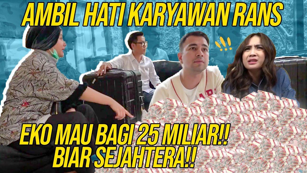 NGGA MAIN-MAIN!! EKO PATRIO BAWA CASH 25 MILIAR BUAT BELI RANS!!