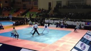 2012第九屆世界青少年跆拳道錦標賽 中華台北王炳順VS韓國 冠軍戰 第三回合