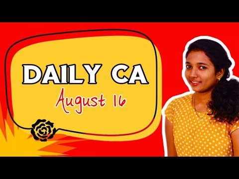 DAILY CA | AUG ( 16 ) | DHONI AN ERA OF INSPIRATION-A SMALL RECAP | MUTUAL FUNDS NA ENNA YA?