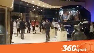Le360.ma •حصري من القاهرة.. خية آمال كبيرة للاعبي المنتخب المغربي لحظة وصولهم إلى الفندق