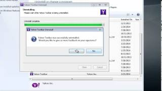 How To Uninstall Yahoo Toolbar
