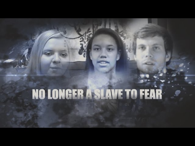 No longer slaves to fear