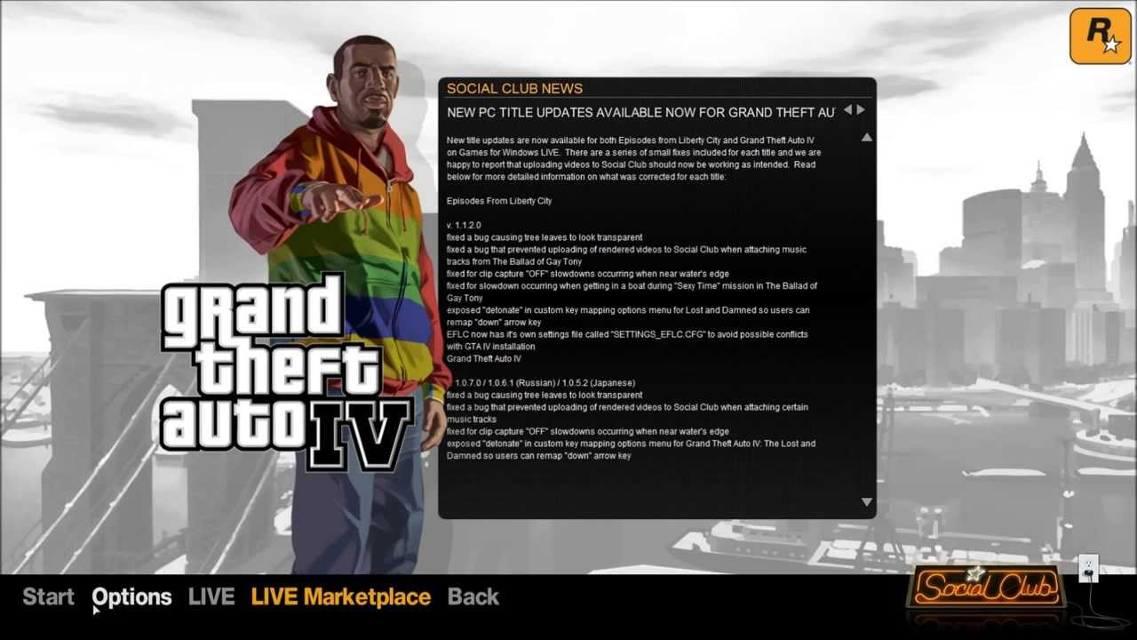 How to register in GTA 4 60