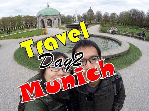 Travel Europe SS1 Day9 - เที่ยวมิวนิค วันที่2 - Munich Residence ปีนหอคอยชมวิว เดินตลาดลานเบียร์