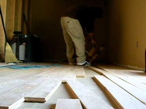 Installing Tongue And Groove Flooring You