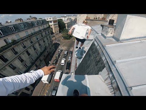 Paris Rooftop Parkour POV 🇫🇷